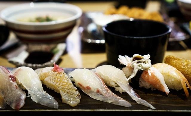 Die japanische Küche - Sushi