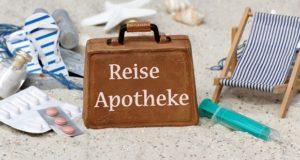 Reiseapotheke: Das Wichtigste für den Notfall!